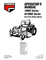 Ferris 1000Z & IS1000Z Operator Manual