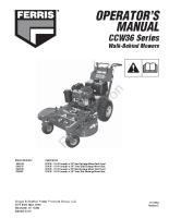 Ferris CCW36 Operator Manual
