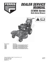 Ferris CCW36 Series Service Manual