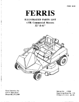 Ferris CTR Illustrated Parts Manual Serial 101
