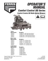 Ferris Comfort Control Dual Drive Operator Manual