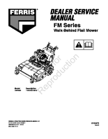 Ferris FM Series Dealer Service Manual