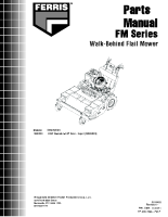 Ferris FM Series Flail Parts Manual (2012 onwards)