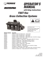 Ferris Fast-Vac Operators-Dealer Setup Manual