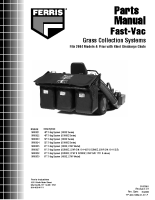 Ferris Fast-Vac Parts Manual 2004 + Prior Models with Steel Discharge Chutes