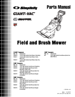 Ferris Field + Brush Cutter Parts Manual