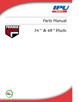 Ferris Flail 36 & 48 Parts Manual (up to 2012)