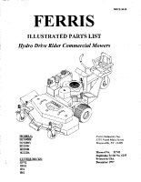 Ferris H19 &H22 Series Illustrated Parts Manual