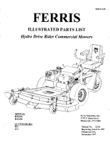Ferris H32 Series Illustrated Parts Manual