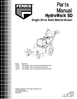 Ferris HWKAV15 Illustrated Parts Manual