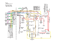 Ferris I S5000 Z Series 31.5 H P C A T Diesel Model Serial No 410 & Below Wiring Diagram
