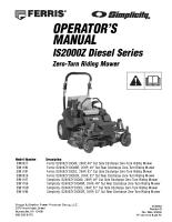 Ferris IS2000Z Operator Manual