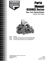Ferris IS3000Z Serial 3631 + Above