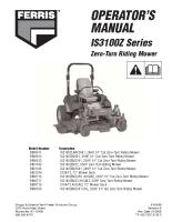 Ferris IS3100Z Operator Manual