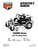 Ferris IS4000Z Series Operator Manual