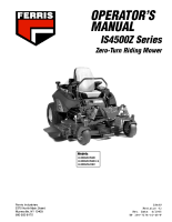 Ferris IS4500Z Operator Manual (2005 Models)