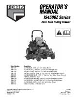 Ferris IS4500Z Operator Manual
