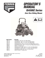 Ferris IS4500Z Series Operators Manual