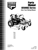 Ferris IS5000Z Serial 1225 – Below -Tractor 1209 – Below-Mower