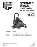 Ferris IS500Z Series Operator Manual