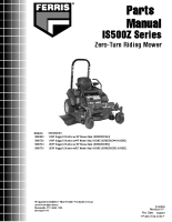 Ferris IS500Z Series Parts Manual