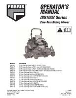 Ferris IS5100Z Operator Manual