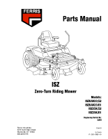 Ferris ISZ Illustrated Parts Manual Serial 2269