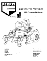 Ferris ISZ Illustrated Parts Manual