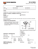 Ferris Service Bulletin F086 IS3100ZL26_61 Possible Missing Hardware on Crankshaft Bolt