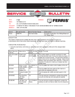 Ferris Service Bulletin F107 Updates to Evolution Zero-Turn Riding Mowers w_48 Inch Mower Deck