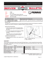 Ferris Service Bulletin F110 – Updates to the IS5100Z Hydraulic Lift System