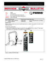 Ferris Service Bulletin F114 – ROPS Labels for Ferris IS700Z Units