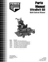 Ferris Ultra Belt BGF Illustrated Parts Manual