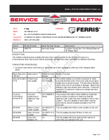 Ferris service Bulletin F106 Updates to Evolution Zero-Turn Riding Mowers w_ 36 Inch Mower Deck