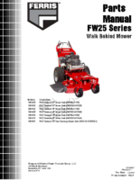 FW25-Series-Parts-Manual