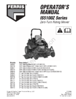 Ferris-IS5100Z-Operator-Manual