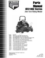 Ferris-IS5100Z-Parts-Manual