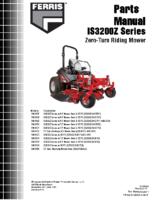 Ferris IS3200Z 2017 Parts Manual