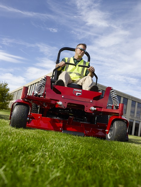 Book a demonstration with a Ferris zero turn mower